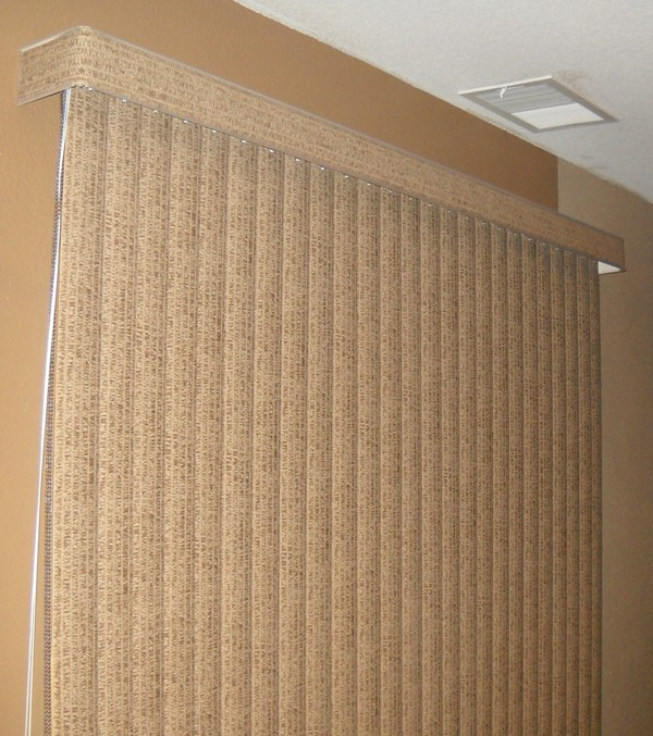 Vertical Blinds Valance Home Remodeling And Renovation Ideas